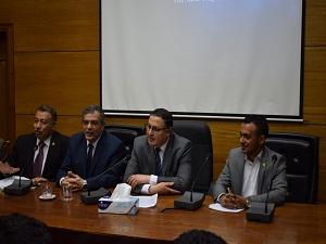 المغربى : الجامعة حريصة على التواصل مع الطلاب وحل مشاكلهم