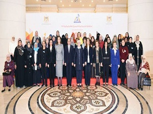 جامعة بنها شاركت في إحتفالية تكريم المرأة المصرية والأم المثالية