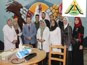 انطلاق حملة التبرع للدم بكليات جامعة بنها