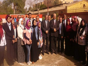المغربى يشهد حفل ختام الأنشطة لطلاب المدن الجامعية