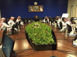 المغربى يرأس فريق عمل الإعتماد البرامجى لأول كلية تربية بالمملكة العربية السعودية