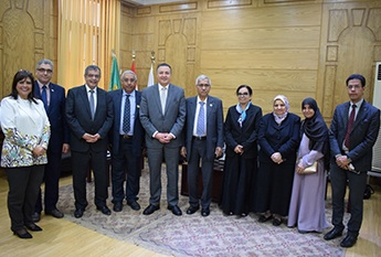 EL-Saied heaps praise on the Egyptian-Emeriti relationship upon hosting the delegation of Ras-EL-Khima University