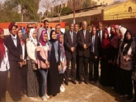 EL-Magraby attends the final ceremony of the students' hostels activities