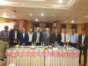 Benha University President participates in Iftar Ceremony with the Faculty Members Club