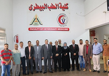 The University President inspects Exams at Faculty of Veterinary Medicine