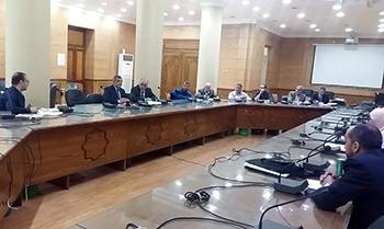 «المغربى» يترأس لجنة تطوير البرامج والمقررات بجامعة بنها