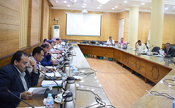 خلال رئاسته مجلس شئون التعليم والطلاب بجامعة بنها: «المغربى» يشدد على سرعة اعلان النتائج