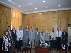 El Saeed receives a delegation from the National Center for Assessment