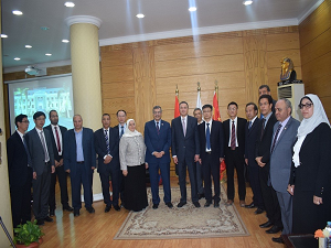 El Saeed receives Delegation from Wuhan University