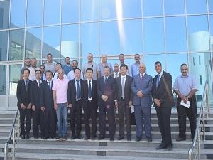 Wuhan University's Delegation inspects Benha University Faculties