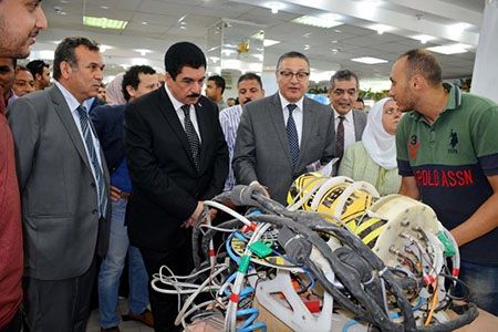 Benha University launches the 1st competition for Students' Projects