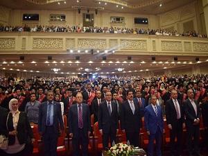 عبد الحليم  والسعيد :- يشهدان حفل خريجى كلية الهندسة بشبرا