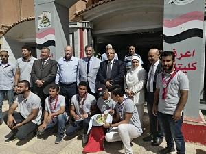 المغربي: يتفقد ثاني أيام العام الدراسي بكليتي العلوم  وهندسة بنها