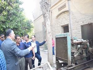 السعيد : يتفقد أرض مستشفي جامعة بنها التخصصي الجديد