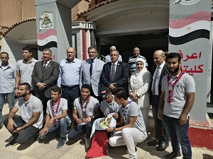 El Maghraby inspects Faculty of Science and Engineering