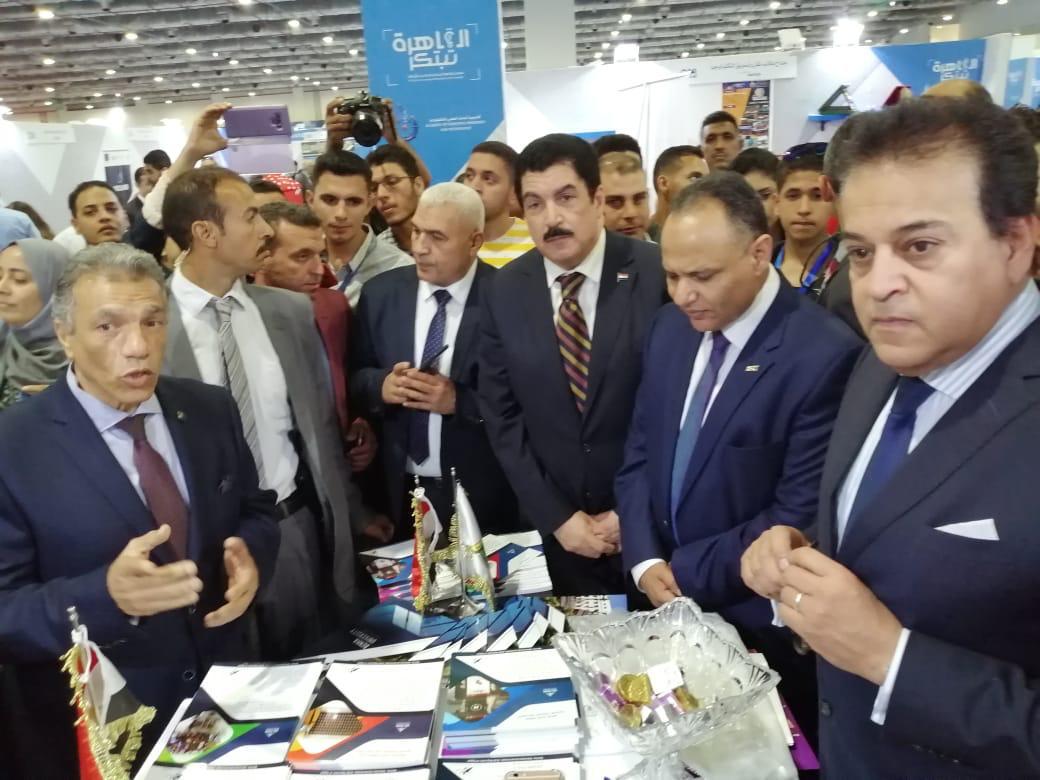 جامعة بنها تشارك فى معرض القاهرة الدولي السادس للإبتكار