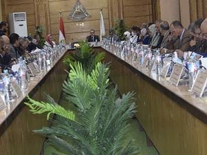 مجلس جامعة بنها يوافق على تشكيل لجنة جوائز الجامعة