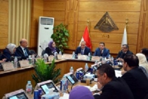 EL-Saeid presides over the university council meeting in the presence of new Qulubia governor