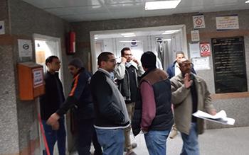 جامعة بنها: انتظام العمل بإستقبال المستشفى الجامعى بعد اصلاح العطل فى أقل من 24 ساعة