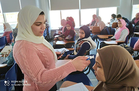 «صحتك بالدنيا» - مبادرة جامعة بنها بالعبور بالتعاون مع الإدارة الطبية للجامعة