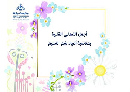السعيد يهنئ جامعة بنها بأعياد الربيع