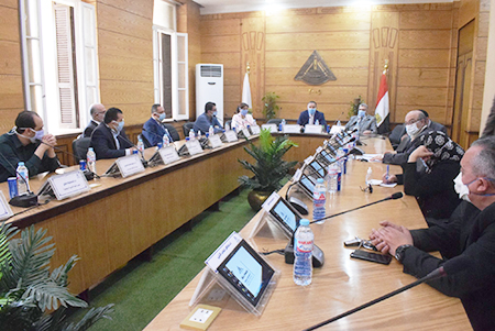 Higher Committee for Corona Crisis Management at Banha University