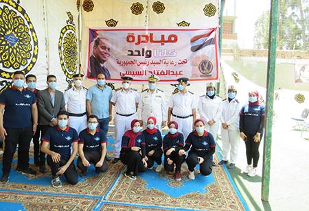 Benha University Students participates in