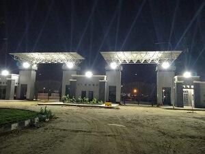 تشغيل منظومة الكهرباء الجديدة بفرع جامعة بنها بالعبور