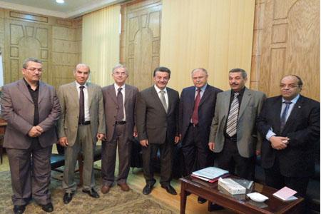 إنضمام جامعة بنها لإتحاد الجامعات العربية