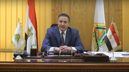In an exclusive video to Benha University's E-portal: EL-Saied delivers a speech to Benha University's students on the occasion of his appointment by a presidential decree